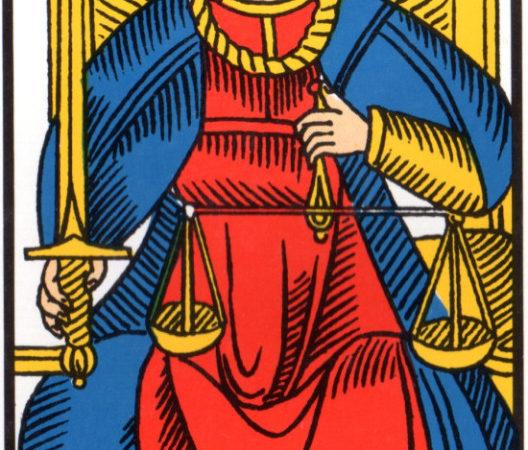 la justice association combinaison tarot la justice arcane 8