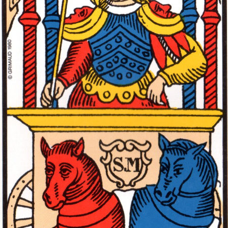 le chariot association combinaison tarot le chariot arcane 7