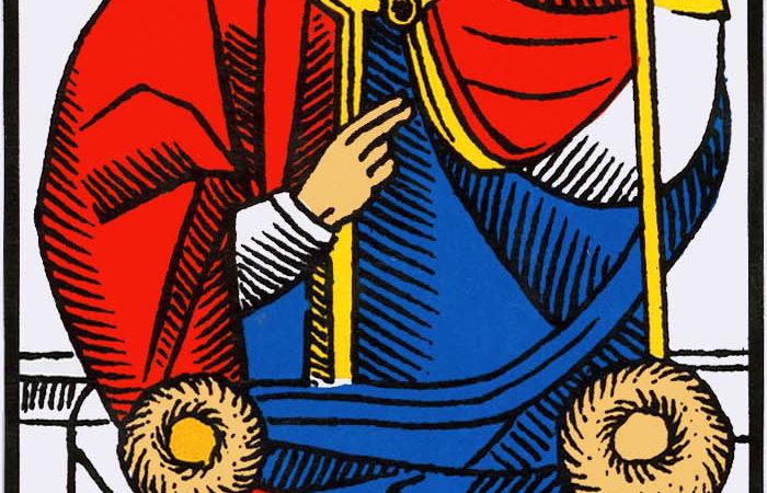 PAPE association combinaison tarot le pape arcane 5
