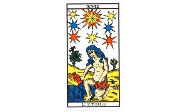 l'étoile association combinaison tarot l'étoile arcane 17